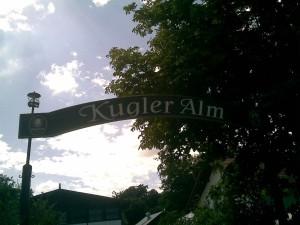 Kugler Alm - Entrance/Eingang