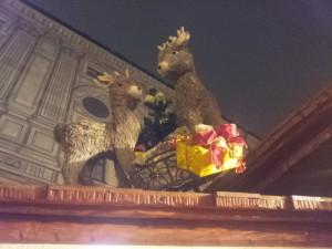 Tolle Kulisse auf dem Weihnachtsmarkt in der Residenz