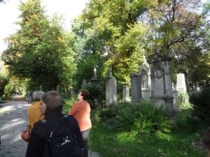 München - Gräber auf dem alten Südfriedhof