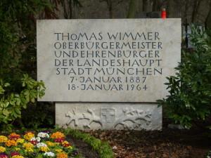 Grab Th. Wimmer Ostfriedhof
