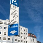 parking sign/Parkschild