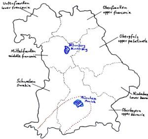 Gewitter/thunderstorms Bayern/Bavaria