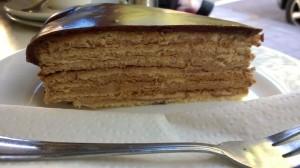 Prinzregententorte/Prince Regent's Cake